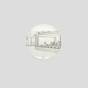 Nighthawks - Stick Mini Button