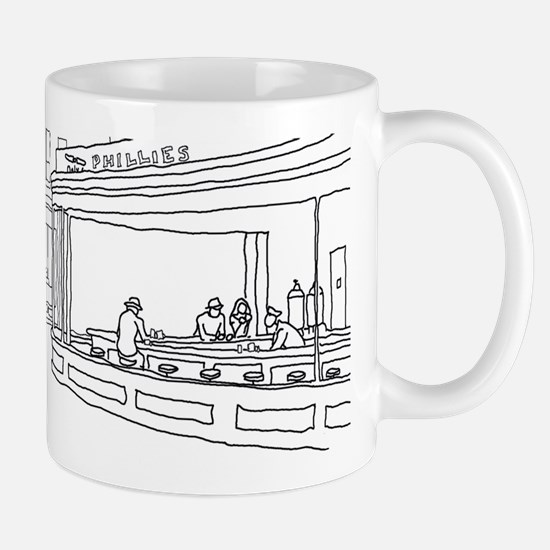 Nighthawks - Stick Mug