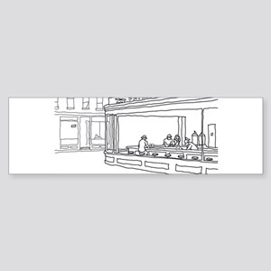 Nighthawks - Stick Bumper Sticker (10 pk)