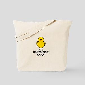 Bartender Chick Tote Bag