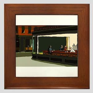 Nighthawks - S.F. Masterpiece Framed Tile