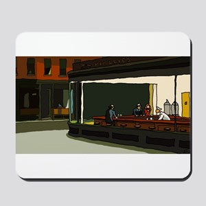 Nighthawks - S.F. Masterpiece Mousepad