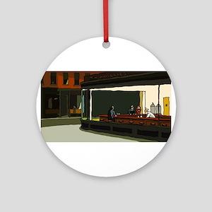 Nighthawks - S.F. Masterpiece Ornament (Round)