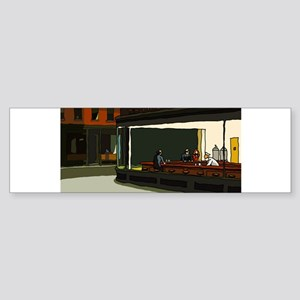 Nighthawks - S.F. Masterpiece Sticker (Bumper 10 p