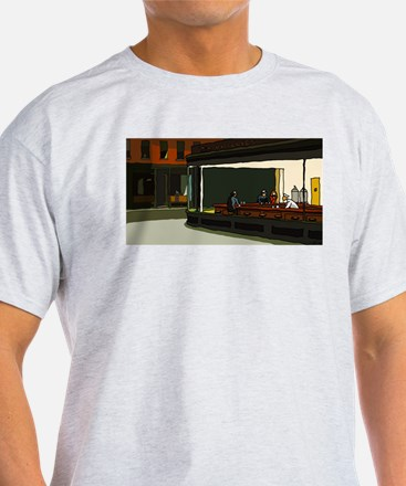 Nighthawks - S.F. Masterpiece T-Shirt