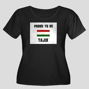 Proud To Be TAJIK Women's Plus Size Scoop Neck Dar