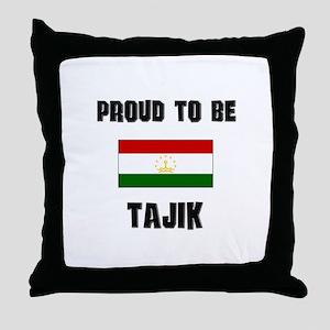 Proud To Be TAJIK Throw Pillow