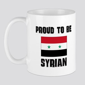 Proud To Be SYRIAN Mug