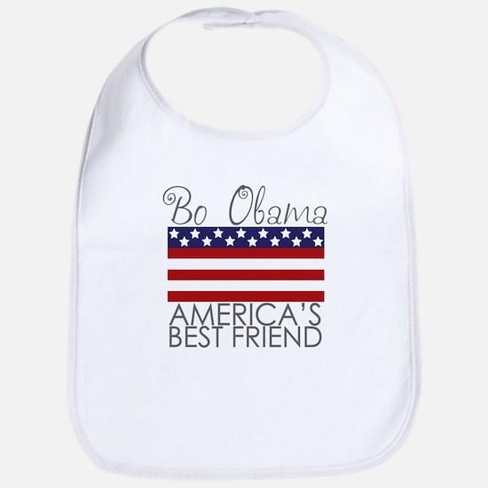 Bo Obama Best Friend Bib