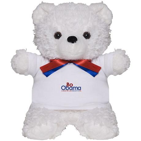 Bo Obama Believe Teddy Bear