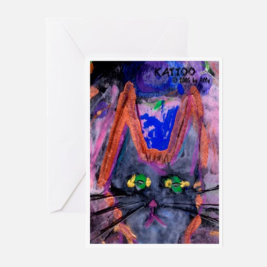 KattToo by Ally Greeting Cards (Pk of 10)