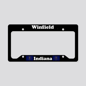 Winfield, IN License Plate Holder