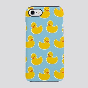 Cute Ducky Pattern iPhone 7 Tough Case
