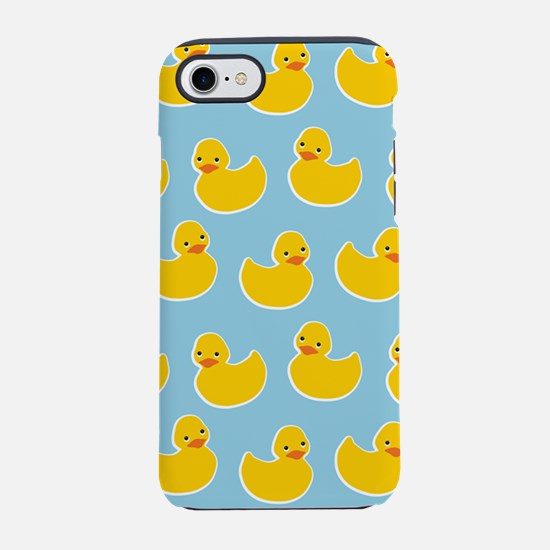 Cute Ducky Pattern iPhone 7 Tough Case