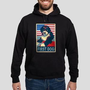 First Dog BO Obama Hoodie (dark)