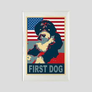 First Dog BO Obama Rectangle Magnet