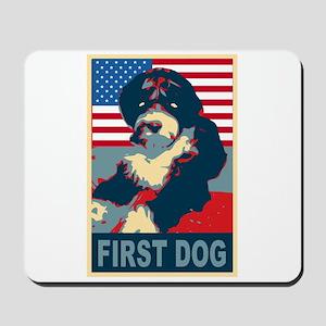 First Dog BO Obama Mousepad