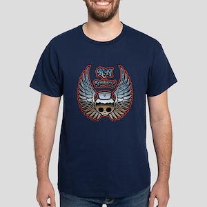 Molly Chrome, RN Dark T-Shirt