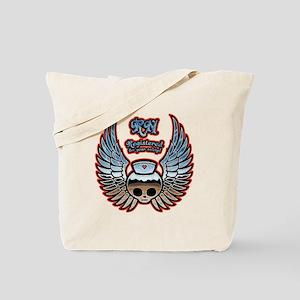 Molly Chrome, RN Tote Bag