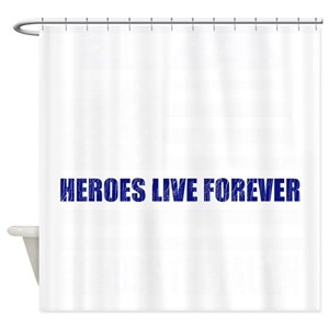 Police Retirement Shower Curtains
