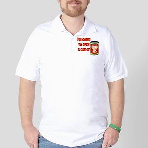 Can of Dumb Ass Golf Shirt