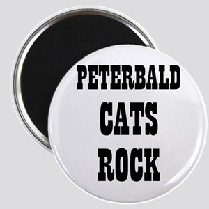 "PETERBALD CATS ROCK 2.25"" Magnet (10 pack)"