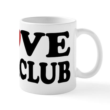 I Love Book Club Mug
