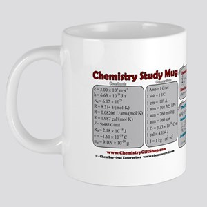 Chemistry Study Tables 20 oz Ceramic Mega Mug
