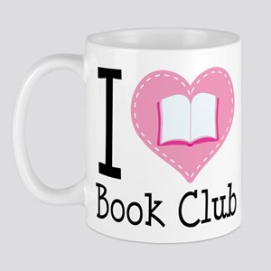 I Heart Book Club Mug
