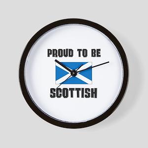 Proud To Be SCOTTISH Wall Clock