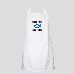 Proud To Be SCOTTISH BBQ Apron