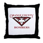 Bombers Throw Pillow