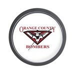 Bombers Wall Clock