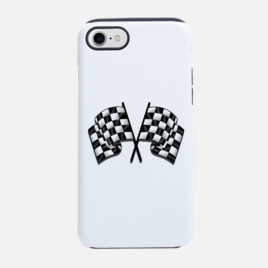 Chequered Flags iPhone 7 Tough Case