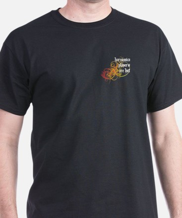 Harmonica Players Are Hot T-Shirt