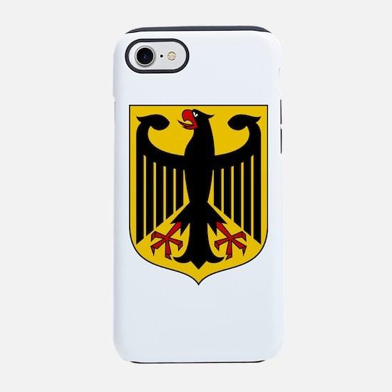 German Coat of Arms iPhone 7 Tough Case