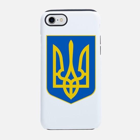 Ukraine Coat of Arms iPhone 7 Tough Case