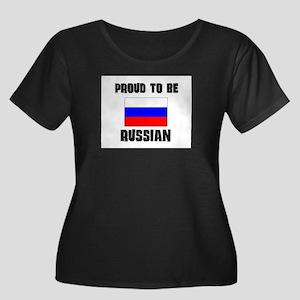 Proud To Be RUSSIAN Women's Plus Size Scoop Neck D