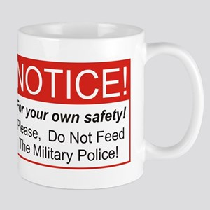 Notice / Military Police Mug
