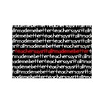 teachersayritalinmademebetter Rectangle Magnet (10