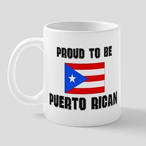 Proud To Be PUERTO RICAN Mug