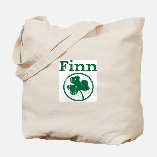 Finn shamrock Tote Bag