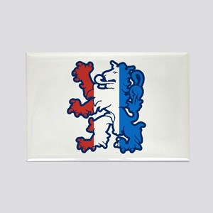 Netherlands Lion Rectangle Magnet
