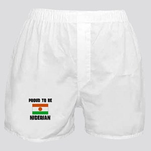 Proud To Be NIGERIAN Boxer Shorts