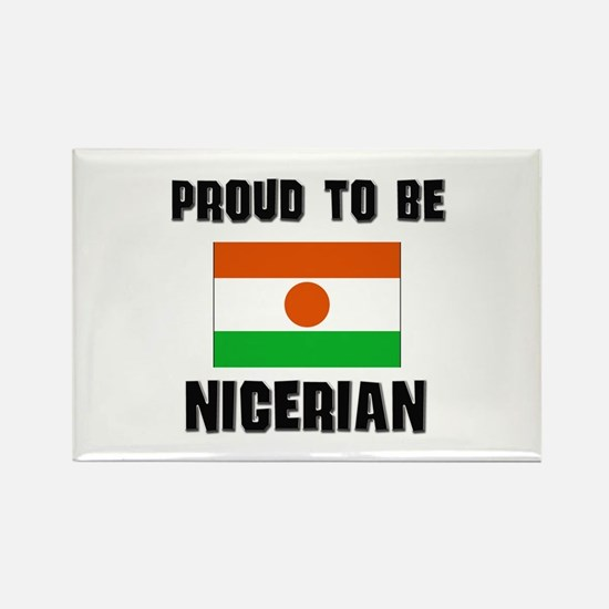 Proud To Be NIGERIAN Rectangle Magnet