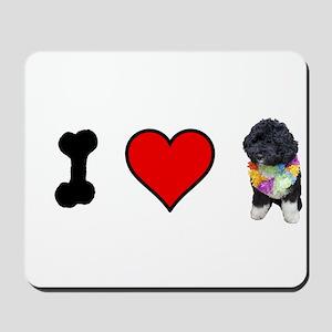 I Love Bo Mousepad