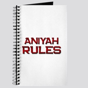 aniyah rules Journal