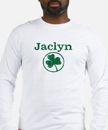 Jaclyn shamrock Long Sleeve T-Shirt