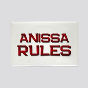 anissa rules Rectangle Magnet