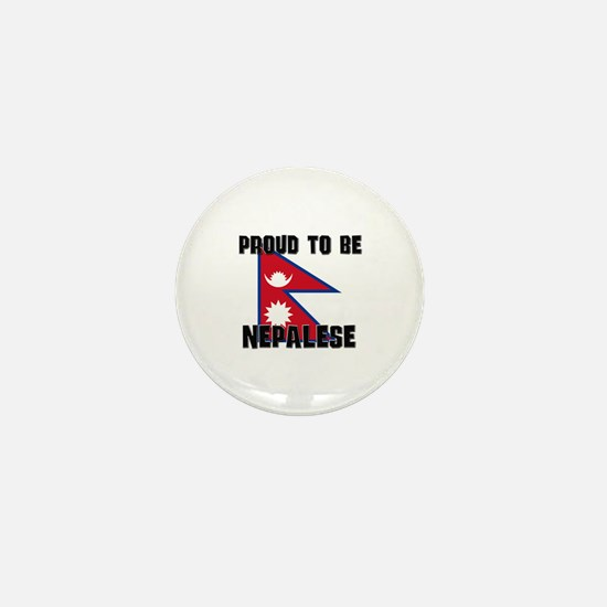 Proud To Be NEPALESE Mini Button